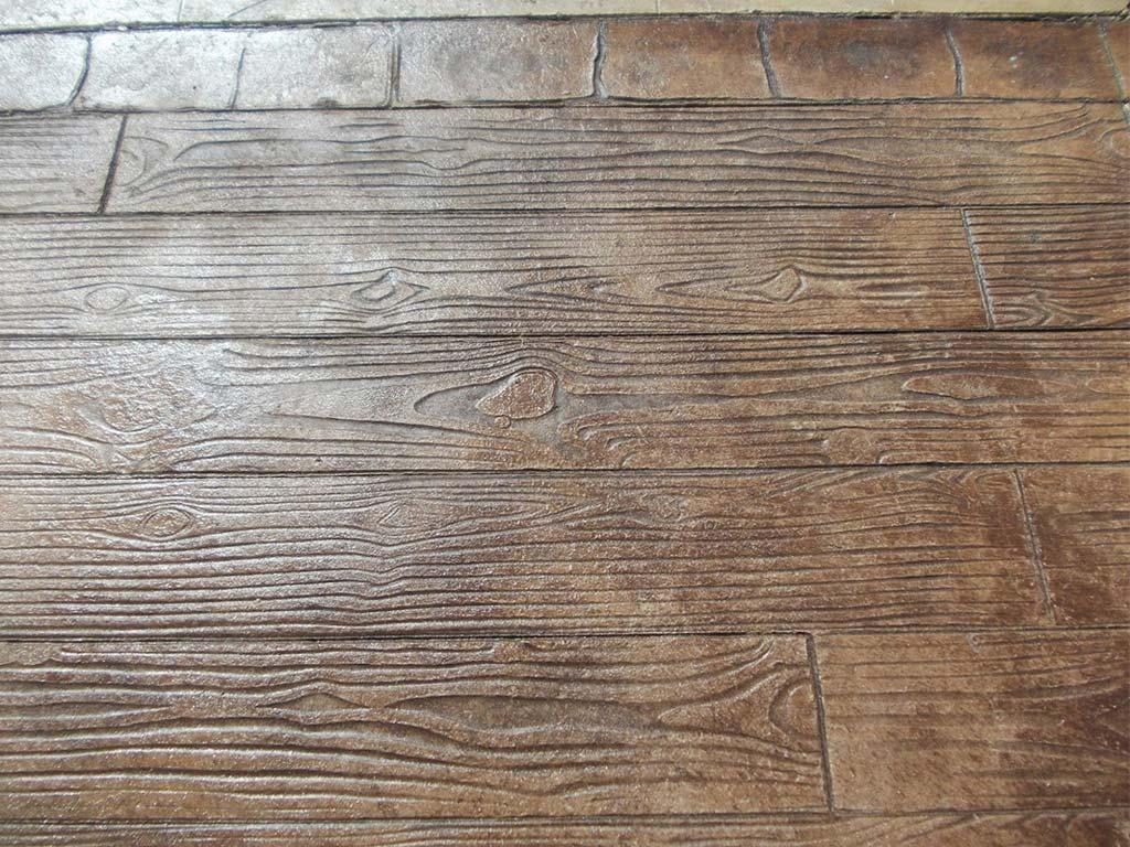 Hormigón madera