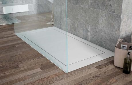 Plato de ducha Strato blanco