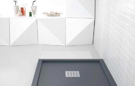 Plato de ducha enmarcado
