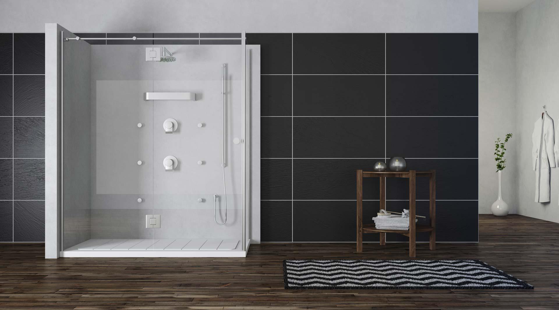 Cambiar ba era por ducha benidorm soloducha for Cambiar banera por ducha