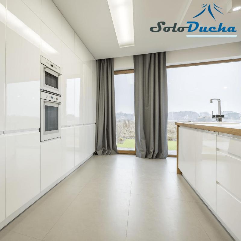 Tendencia decoración cocina blanca