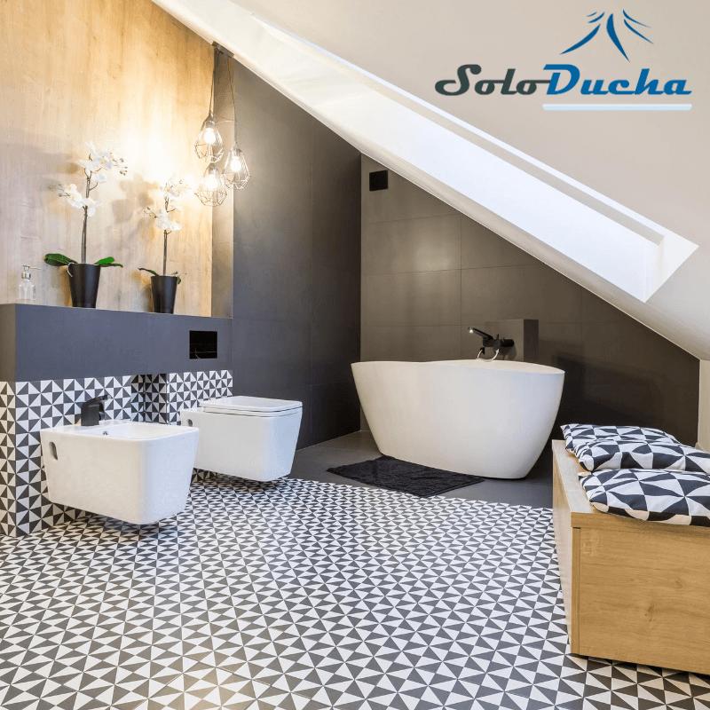 Reforma de baño utilizando azulejos